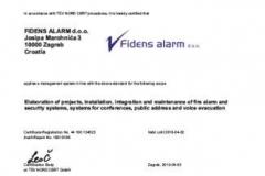 Fidens alarm ISO9001 eng
